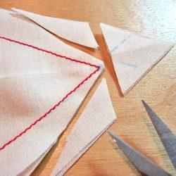 Правильная обработка углов (Шитье и крой)