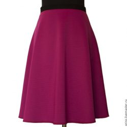 Выкройка модной юбки за 10 минут (Шитье и крой)