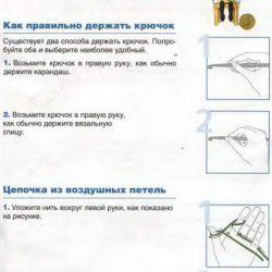 Шпаргалка для новичка по вязанию крючком (Уроки и МК по ВЯЗАНИЮ)