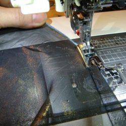 Обработка срезов с лапкой-улиткой (Шитье и крой)