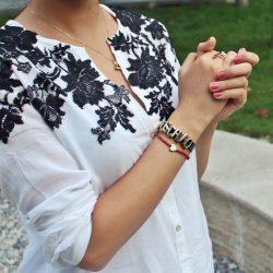 Идея для декора блузки (Шитье и крой)