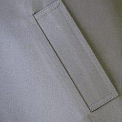 Мастер-класс. Прорезной карман с накладной прямой листочкой (Шитье и крой)