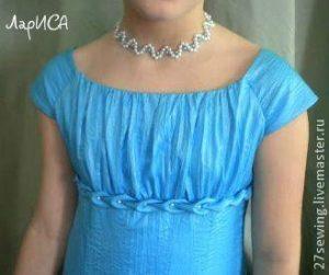 Как украсить платье буфами (Шитье и крой)