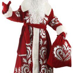 Как сшить костюм Деда Мороза своими руками: выкройка наряда, способы оформления шапки, посоха, перчаток и бороды (Шитье и крой)