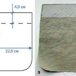 Способы обработки накладных карманов (Шитье и крой)
