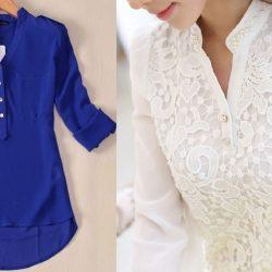 Блузка/размер 36-56 португальский (Шитье и крой)