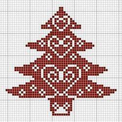 Схемы для «новогоднего» жаккарда ( Уроки и МК по ВЯЗАНИЮ)