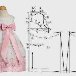 Шьем нарядные платья для девочек. Выкройки (Шитье и крой)