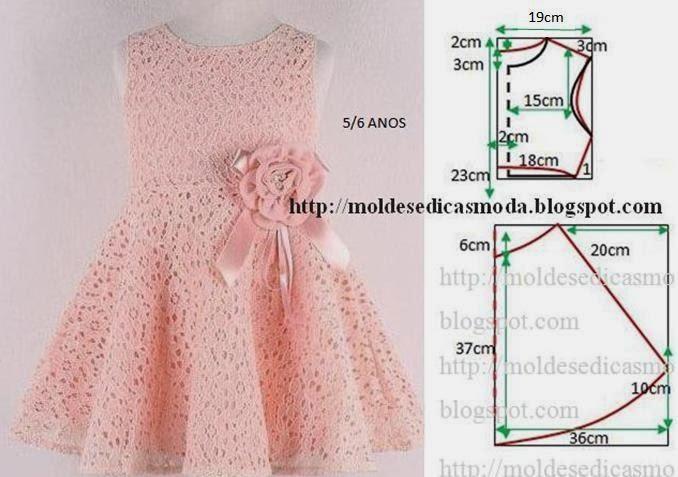 Шьем нарядные платья для девочек выкройки