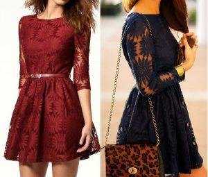 Кружевное платье, рукав 3/4 размер 36-56  (Шитье и крой)
