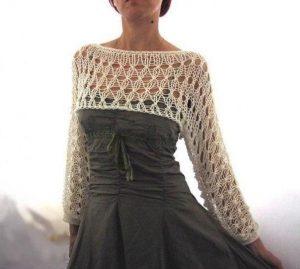 Идеи. Ткань + вязание