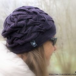 ШАПКА «GUGGEREN HAT» BY BRIGITTE KDLIN (Вязание спицами)