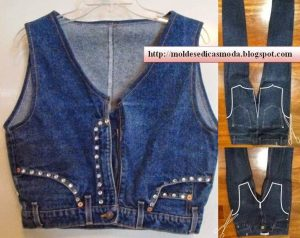 Переделка из джинсов (Шитье и крой)