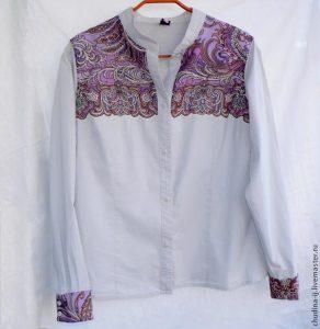 Идея для переделки рубашки (Шитье и крой)