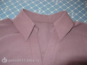 МК по рубашечному воротнику (Шитье и крой)