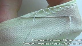 Способ подшива изделия вручную. Мастер-класс (Шитье и крой)