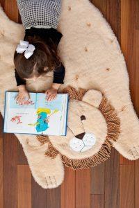Плюшевый коврик в детскую (Шитье и крой)