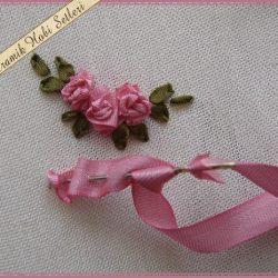 Учимся вышивать лентами: пошагово, доступно и красиво