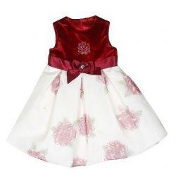 Нарядное платье для маленьких принцесс. Выкройка (Шитье и крой)