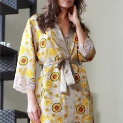 Халат-кимоно.Выкройка (Шитье и крой)