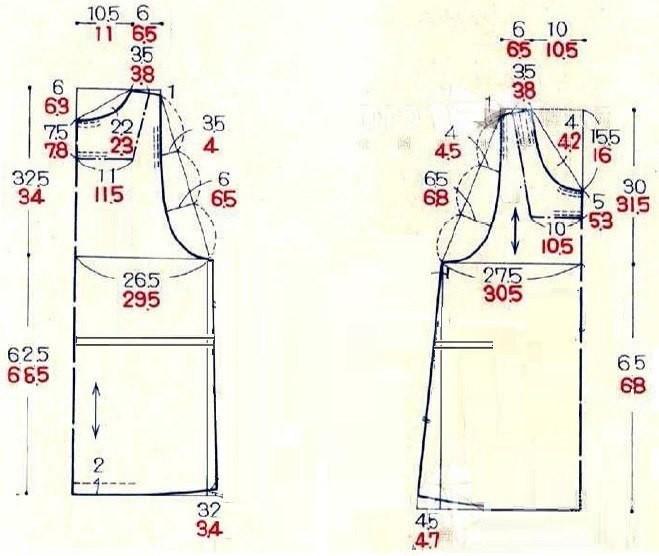 Бурда сарафан для беременных выкройка 83