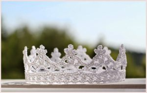 Корона для Принцессы. Схема (Вязание крючком)