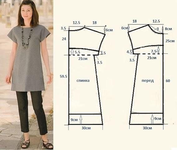 42 размер выкройки простые платья