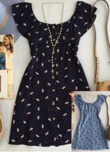 Платье-рубашка (шемизье) (Шитье и крой)