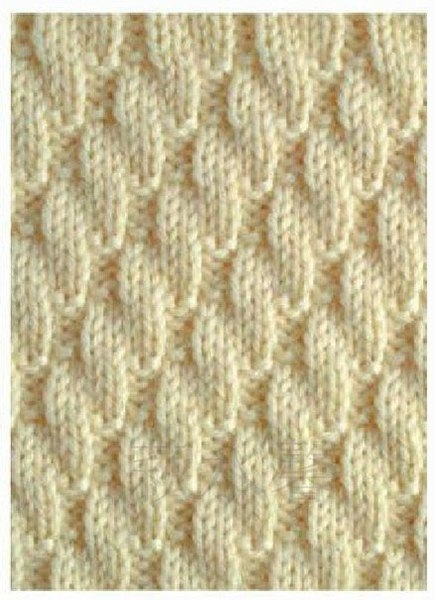 Узор резинка спицами схема и описание фото 918