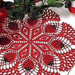 Схемы для вязания салфеток (Вязание крючком)
