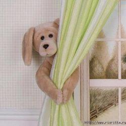 Подхваты для штор в детскую комнату (Идеи)