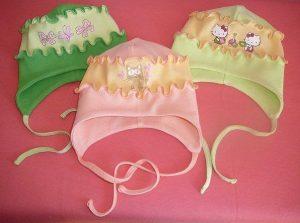 Выкройка трикотажной шапочки для малыша (Шитье и крой)