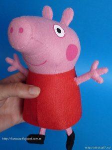 Свинка Пеппа. Фетр (Шьем игрушки)