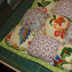 Одеяло бон-бон: сборка квадратами (Шитье и крой)