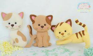 Котята из фетра (Шьем игрушки)