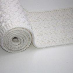 Способ вязывания края в шарфах и пледах (Уроки и МК по ВЯЗАНИЮ)