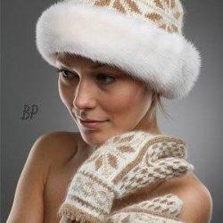 Вязаные шапочки с мехом (Уроки и МК по ВЯЗАНИЮ)
