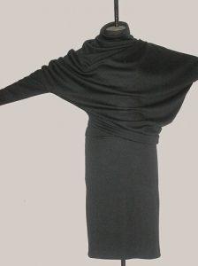 Интересный перекошенный крой платья (Шитье и крой)