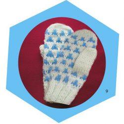 Вяжем рукавички двумя спицами (Уроки и МК по ВЯЗАНИЮ)