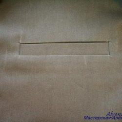 Изготовление прорезного кармана с листочкой (Шитье и крой)