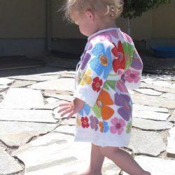 Банный халатик из полотенец для ребенка. Мастер-класс (Шитье и крой)
