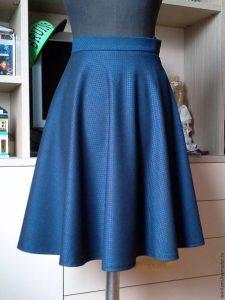 Шьем юбку-полусолнце (Шитье и крой)