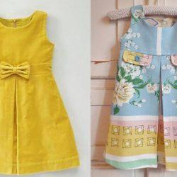 Выкройка платья для девочки от 1 до 12 лет (Шитье и крой)
