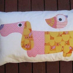 Креативный декор подушек с помощью аппликаций (Идеи)