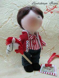 Текстильная кукла (Шьем игрушки)