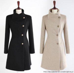 Пальто. Выкройки 38-52 (Шитье и крой)