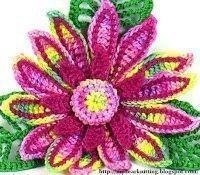 Лилии крючком (Вязаные цветы)