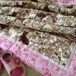 Шьем двустороннее байковое одеяло за 20 минут (Шитье и крой)