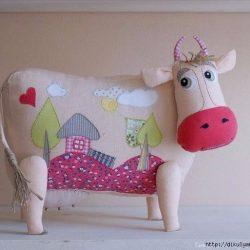 Текстильные коровушки. Выкройки (Шьем игрушки)