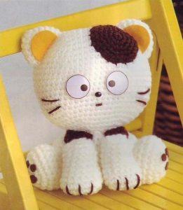 Котенок крючком  (Вязаные игрушки)